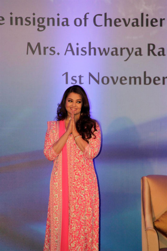 aishwarya rai bachchan conferred french civilian award photos 1660 Aishwarya Rai Photos At French Embassy