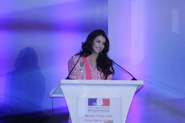 aishwarya rai bachchan conferred french civilian award photos 1754 Aishwarya Rai Photos At French Embassy