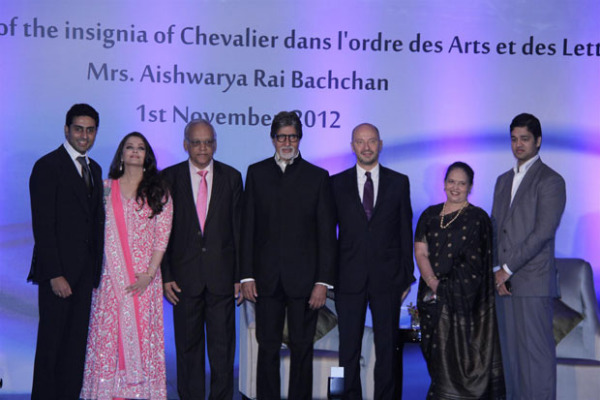 aishwarya rai bachchan conferred french civilian award photos 176 Aishwarya Rai Photos At French Embassy
