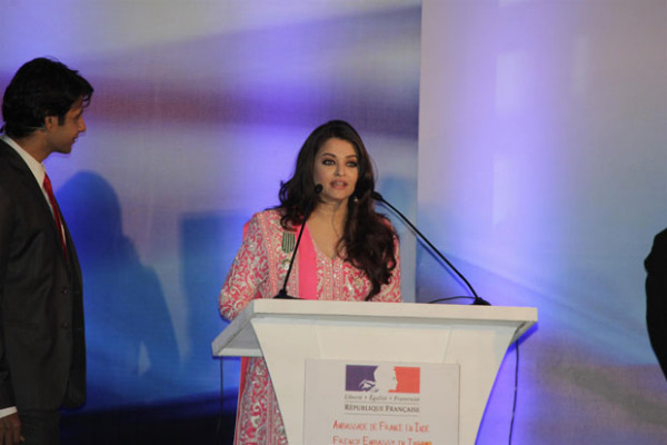 aishwarya rai bachchan conferred french civilian award photos 1944 Aishwarya Rai Photos At French Embassy