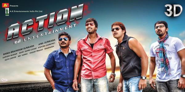 action movie stills 4 Allari Naresh Action 3D Movie Stills