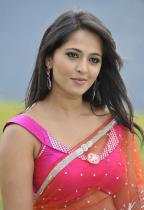 thumbs anushka hot pics in saree 2 Anushka Hot Pics in saree Damarukam Movie