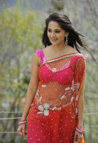 thumbs anushka hot pics in saree 4 Anushka Hot Pics in saree Damarukam Movie