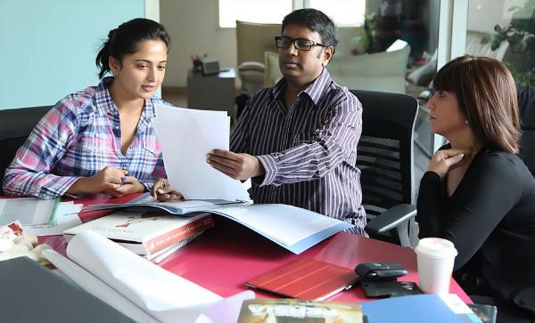 Anushka Rani Rudrama Devi Working Stills
