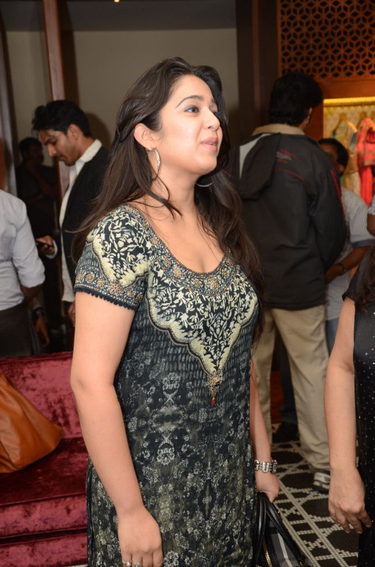 charmi hot stills at shantanu nikhil designer store 03 Charmi Hot Stills at Shantanu Nikhil Designer Store