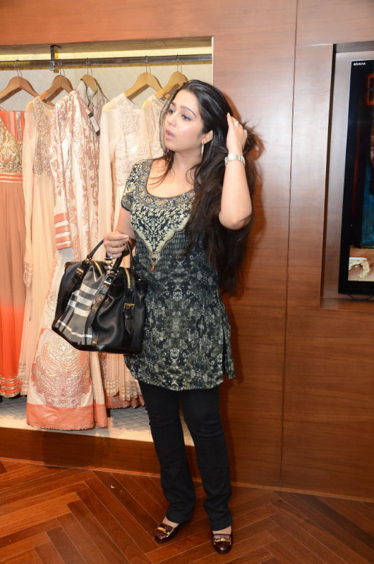 charmi hot stills at shantanu nikhil designer store 04 Charmi Hot Stills at Shantanu Nikhil Designer Store