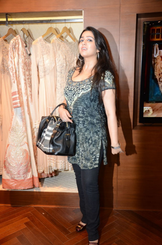 charmi hot stills at shantanu nikhil designer store 09 Charmi Hot Stills at Shantanu Nikhil Designer Store