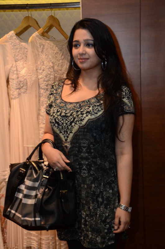 charmi hot stills at shantanu nikhil designer store 10 Charmi Hot Stills at Shantanu Nikhil Designer Store