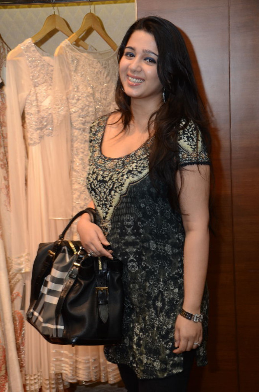 charmi hot stills at shantanu nikhil designer store 11 Charmi Hot Stills at Shantanu Nikhil Designer Store