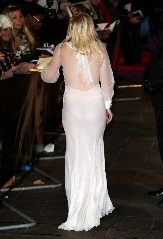 ellie goulding 03 Ellie Goulding Has Wardrobe Malfunction In Sheer White Dress