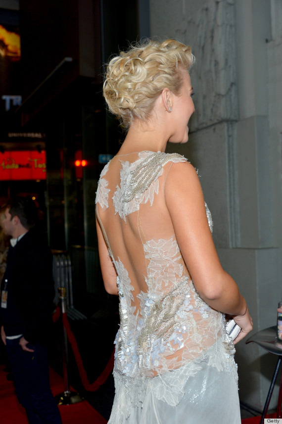 julianne hough pics 572 Julianne Hough Goes Sheer At Safe Haven Premiere In Mesh Beaded Dress