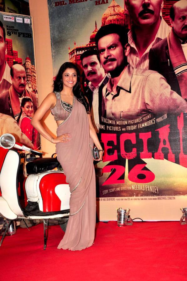 kajal agarwal latest stills at special 26 movie audio launch 5 Kajal Agarwal at Special 26 Movie Audio Launch