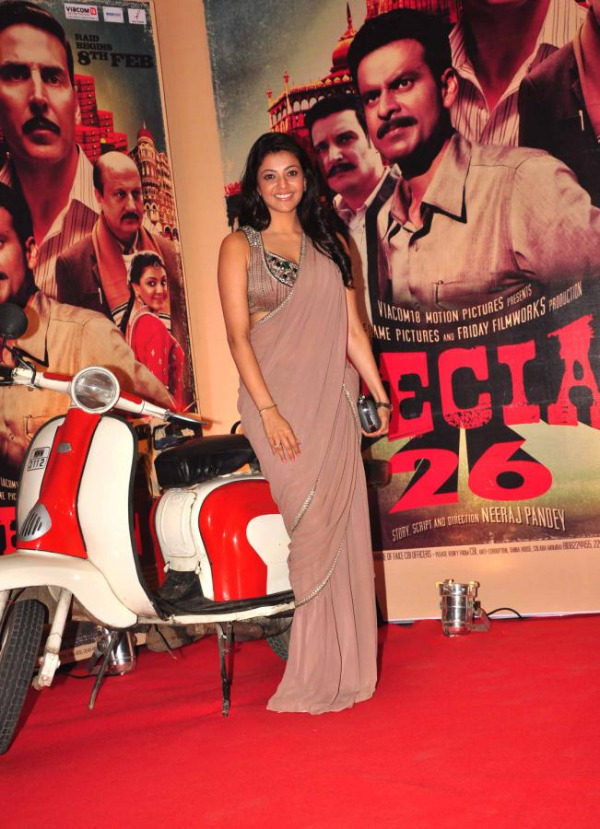 kajal agarwal latest stills at special 26 movie audio launch 9 Kajal Agarwal at Special 26 Movie Audio Launch