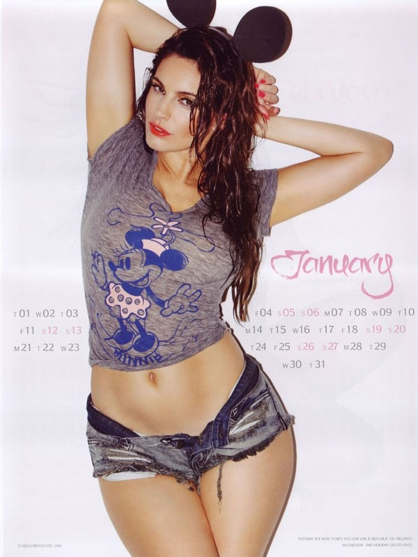 kelly brook 01 Kelly Brook Hot Calendar 2013