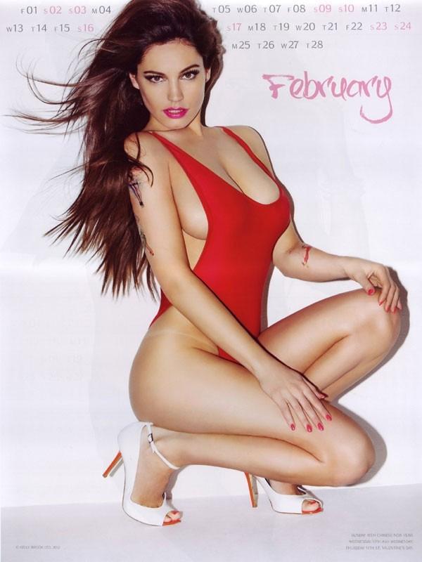 kelly brook 03 Kelly Brook Hot Calendar 2013
