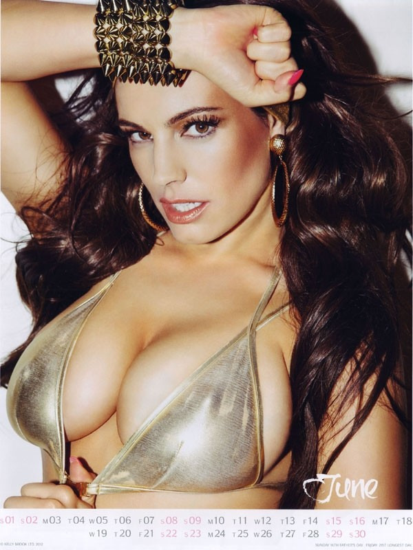 kelly brook 06 Kelly Brook Hot Calendar 2013