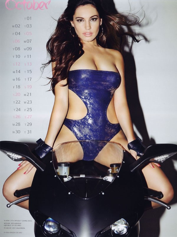 kelly brook 10 Kelly Brook Hot Calendar 2013