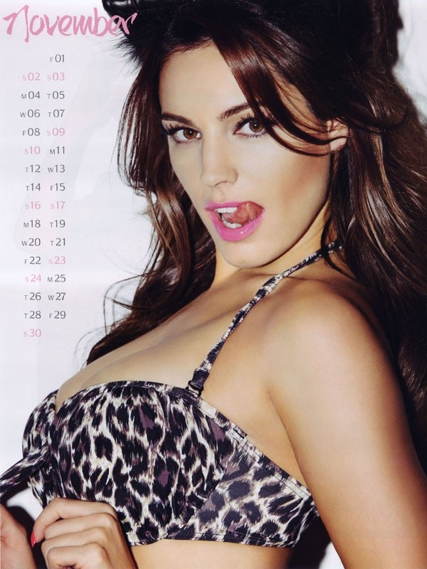 kelly brook 11 Kelly Brook Hot Calendar 2013