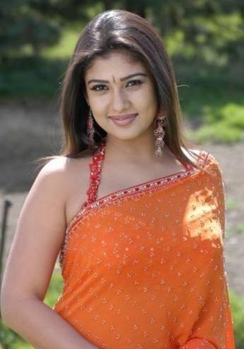 actress nayanthara in saree 02 Nayanthara Hot Photos in Saree
