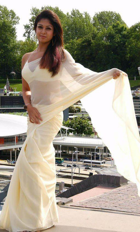 actress nayanthara in saree 05 Nayanthara Hot Photos in Saree