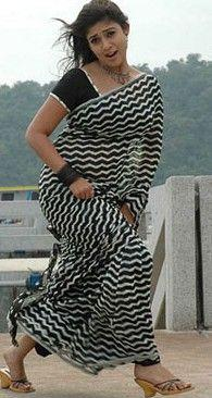 actress nayanthara in saree 09 Nayanthara Hot Photos in Saree