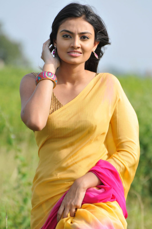 nikitha narayan spicy stills in saree 10 Nikitha Narayan Hot Stills In Saree