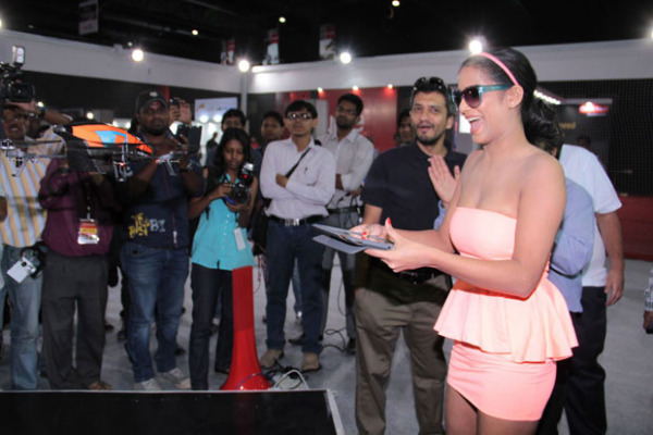 poonam pandey launches augmented reality gaming device 1054 Poonam Pandey Hot Photos at Augmented Reality Gaming Device Launch