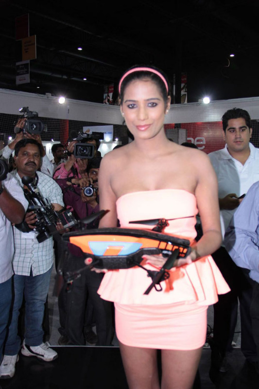 poonam pandey launches augmented reality gaming device 1562 Poonam Pandey Hot Photos at Augmented Reality Gaming Device Launch