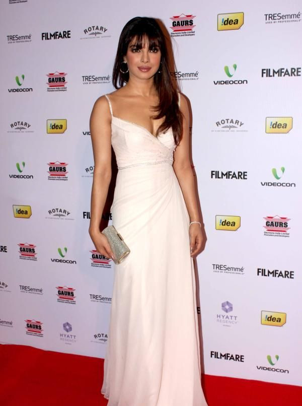 priyanka chopra at 58th filmfare awards 2013 4 Priyanka Chopra at 58th Filmfare Awards 2013