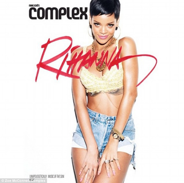 rihanna complex magazine 02 Rihanna bares acres of flesh for Complex magazine