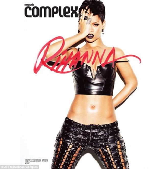 rihanna complex magazine 03 Rihanna bares acres of flesh for Complex magazine