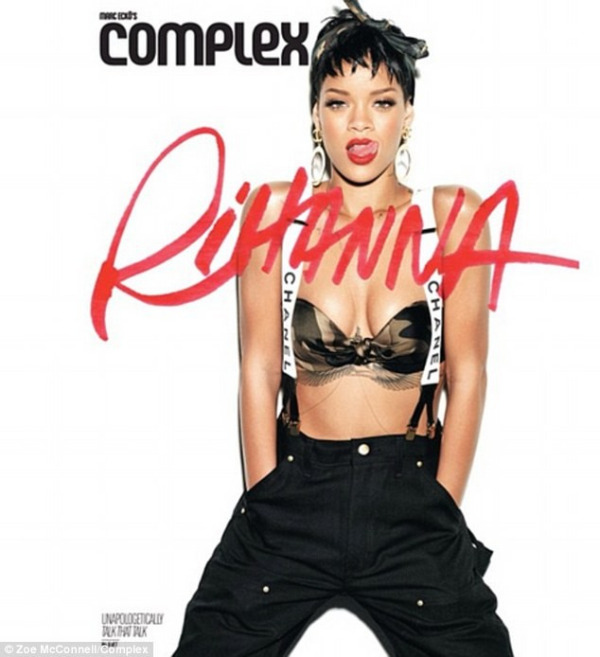 rihanna complex magazine 04 Rihanna bares acres of flesh for Complex magazine