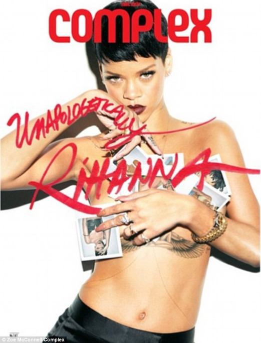 rihanna complex magazine 05 Rihanna bares acres of flesh for Complex magazine