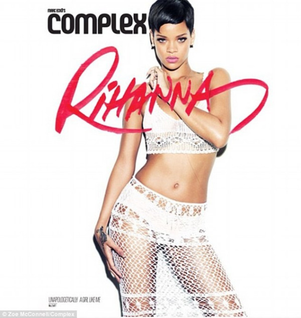 rihanna complex magazine 06 Rihanna bares acres of flesh for Complex magazine