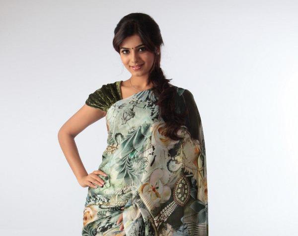 samantha cute saree latest unseen photoshoot2 Samantha Latest Cute Saree unseen Photoshoot Photos