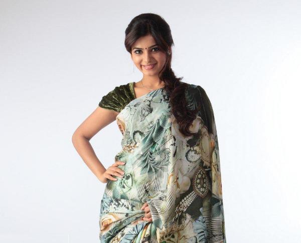 samantha cute saree latest unseen photoshoot5 Samantha Latest Cute Saree unseen Photoshoot Photos