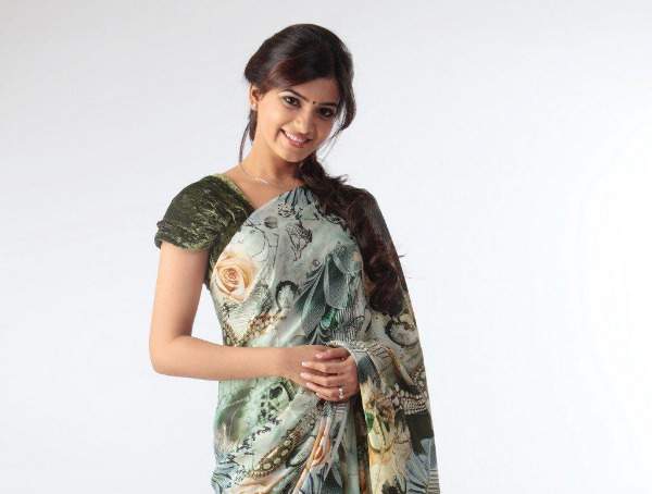 samantha cute saree latest unseen photoshoot7 Samantha Latest Cute Saree unseen Photoshoot Photos