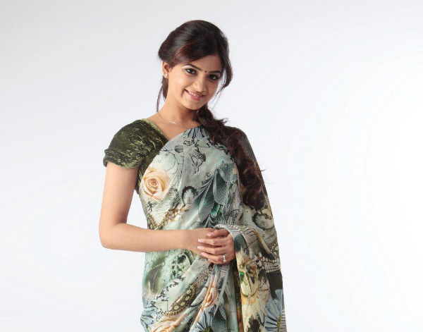 samantha cute saree latest unseen photoshoot8 Samantha Latest Cute Saree unseen Photoshoot Photos