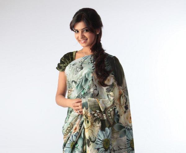 samantha cute saree latest unseen photoshoot9 Samantha Latest Cute Saree unseen Photoshoot Photos