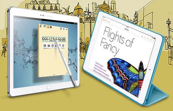 Apple iPad Air vs. Samsung Galaxy Note 10.1