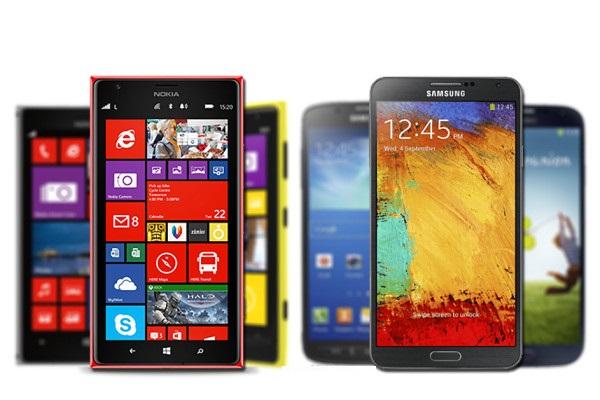 Galaxy Note 3 vs Nokia Lumia 1520