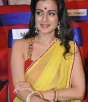 amisha-patel-saree-stills-at-tsr-awards-1