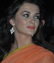 amy-jackson-hot-stills-in-transparant-saree-9