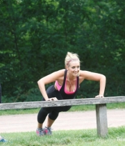 Catherine Tyldesley Works Out Hot Photos In Park - TeluguNow.com_051