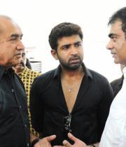 Vijayakumar, Arun Vijay Respects to Dinathanthi owner Sivanthi Adithan Photos