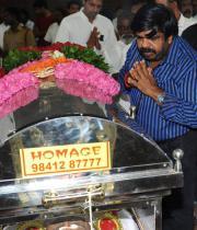T.Rajendar Respects to Dinathanthi owner Sivanthi Adithan Photos