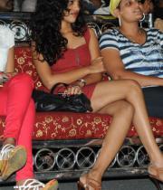 Telugu Actress Chaitra Hot Stills at Sahasra Audio Launch