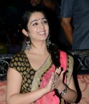 charmi-saree-stills-at-potugadu-audio-launch-1
