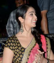 charmi-saree-stills-at-potugadu-audio-launch-10