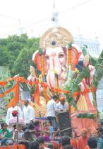 Ganesh Nimajjanam At hyderabad Photos